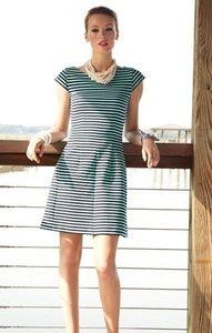 Lilly Pulitzer | Briella Dress Blue Stripe XS